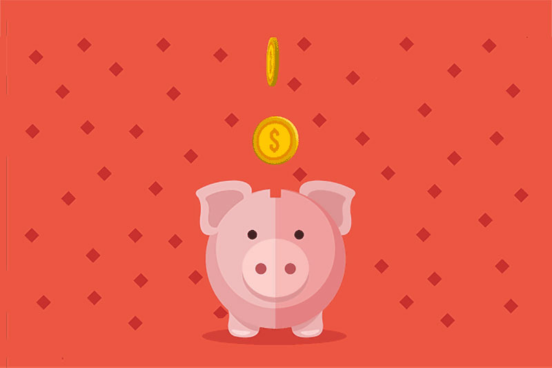 Phoenix rescue mission piggy bank graphic