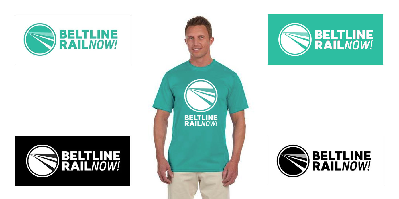 Beltline rail now logo design