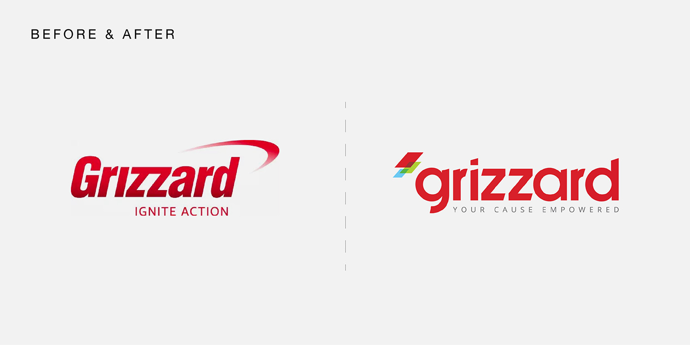 Grizzard before and after