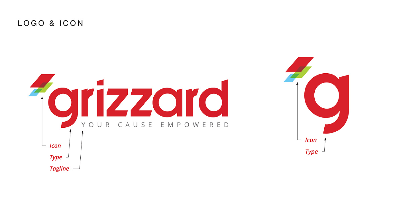 Grizzard logo and icon